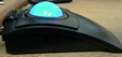 LaserTrac Glow Backlit Black Trackball
